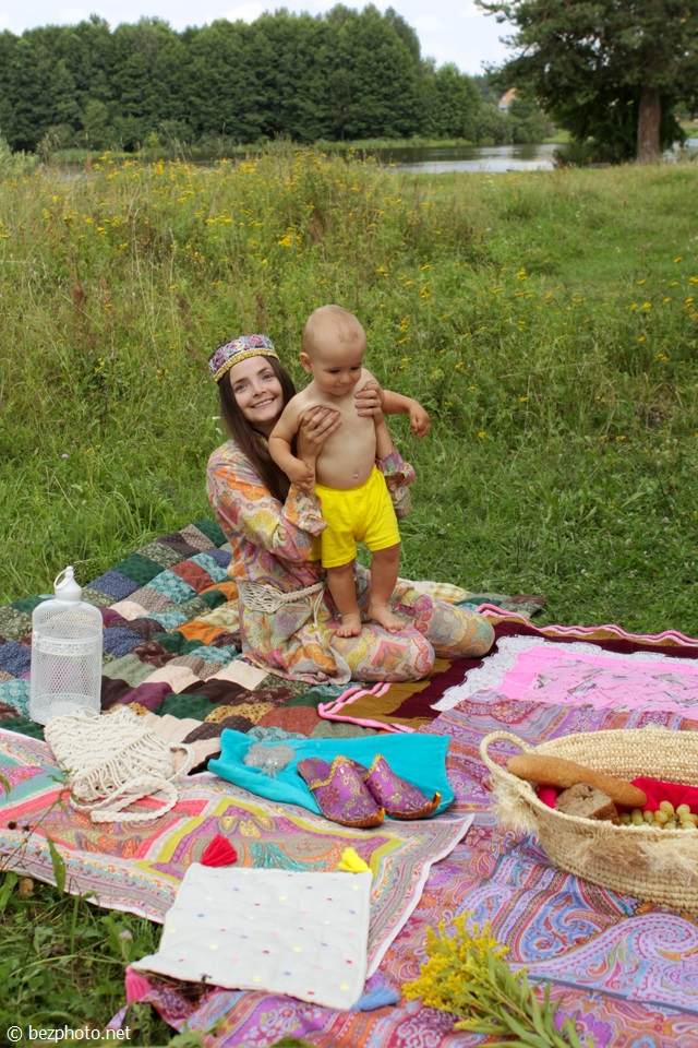 пикник в стиле бохо