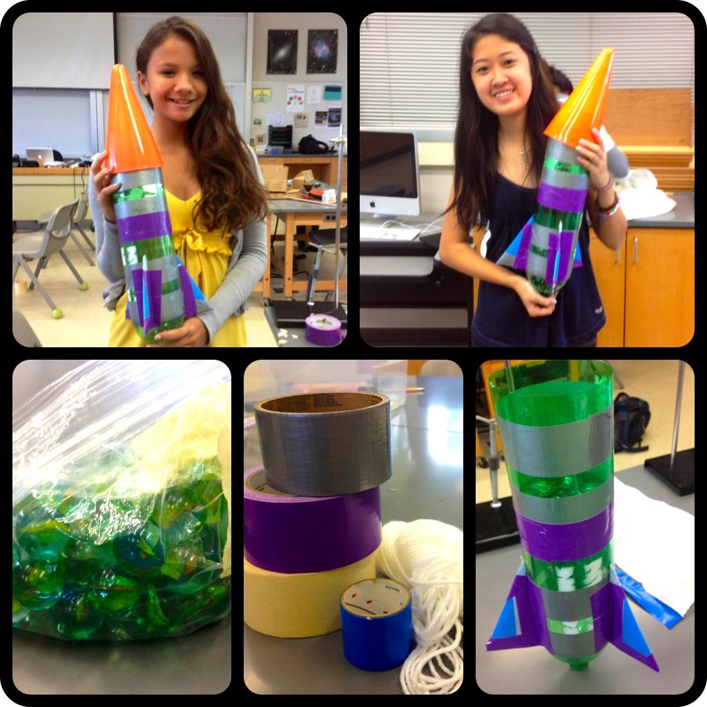 1 Liter Bottle Water Rocket: Summer Physics 2012: Day 21: Water Bottle Rocket Day 3