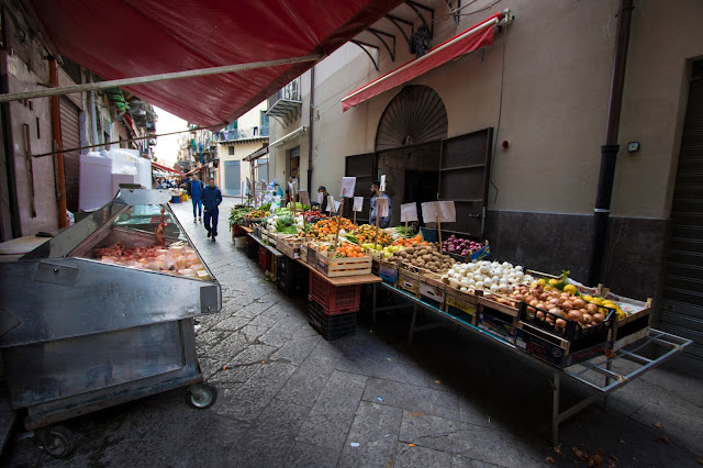 Mercato del Capo-Palermo