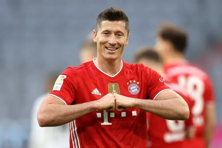 Lewandowski has been voted Germany's Footballer of the Year
