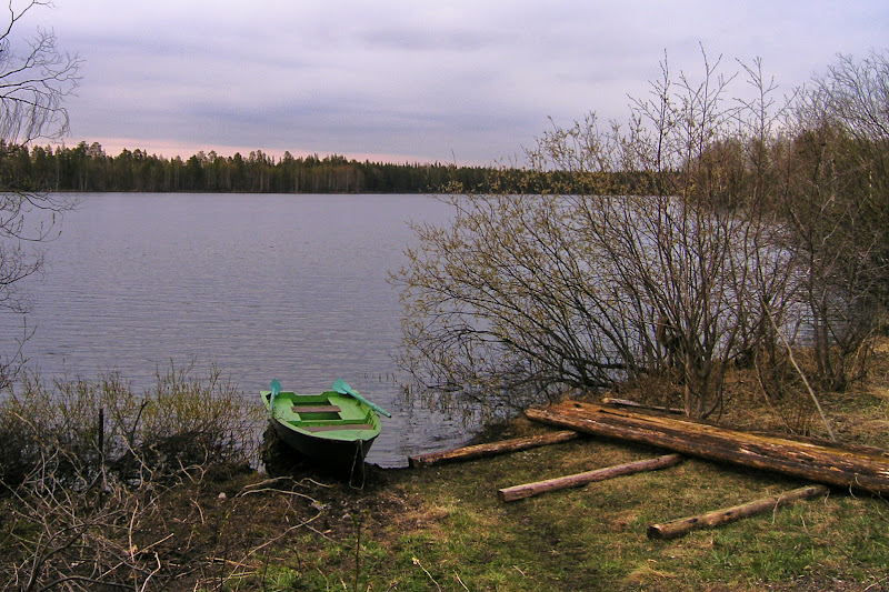 Лодка на Пертозере