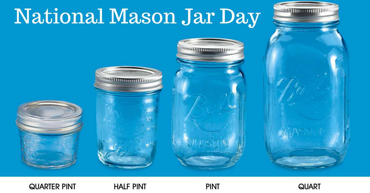 National Mason Jar Day Wishes Images