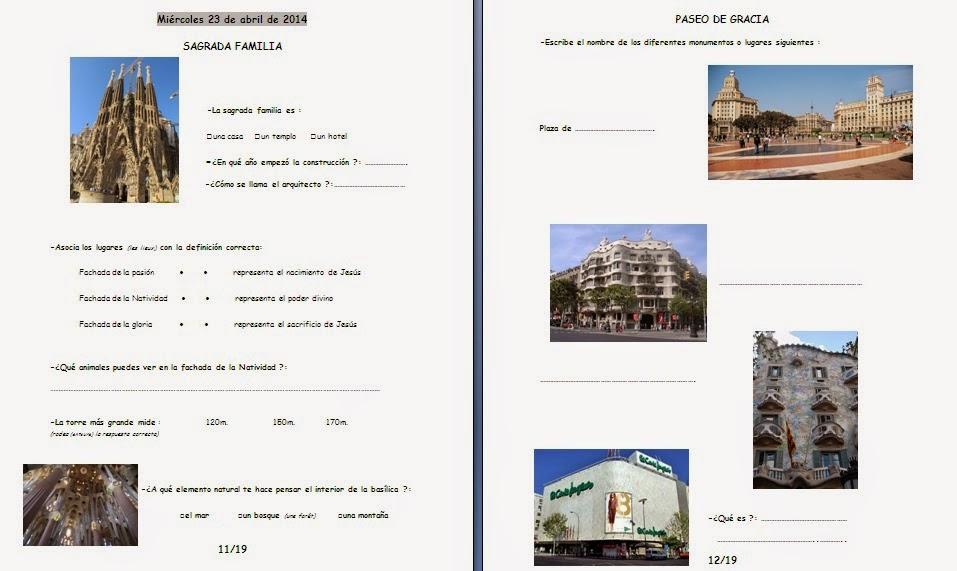 Super Les quichotteries de Delphine: Carnet de Voyage Barcelona HR55