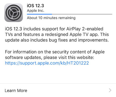USERS REACT TO THE RECENT IOS 12.3, NEW TV APP AND OTHER UPDATES BY APPLE