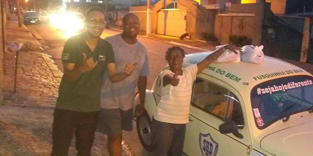 Entrega Cesta Básica doada pelo Time do Jorginho de Ermelino