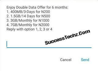 How To Enjoy Airtel Double Data Offer