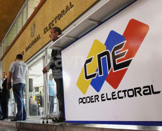 CNE finalizó la auditoría de máquinas que se utilizarán para el 20%