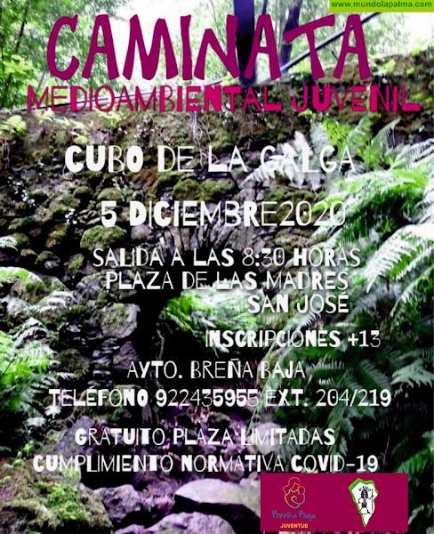BREÑA BAJA: Caminata Juvenil al Cubo de La Galga