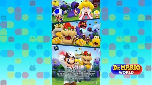 Quốc gia thần tiên trong thế giới Mario bị xâm lăng, buộc chàng thợ sửa ống nước của công ty cần phải một lần tiếp nữa sắm vai người hùng theo mật tịch mới lạ, đó là hòa mình bác sỹ!