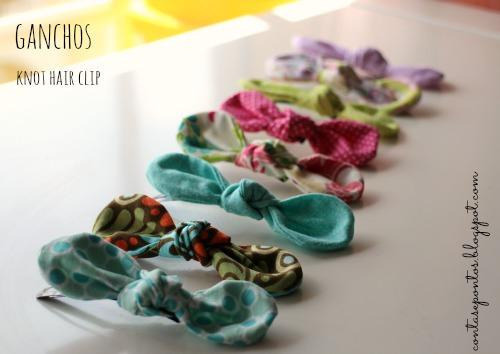 Ganchos - knot hair clip