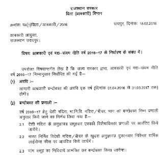 Sarab-Ki-Dukano-Ki-Naye-Shire-Se-Lottery-System-Rajasthan-2018-19