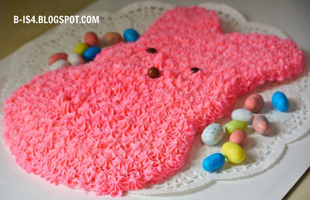 Pink Bunny Cake, Dessert
