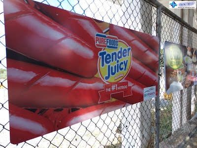 Outdoor Signage - Purefoods Tender Juicy Hotdog