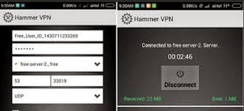 Working Airtel Free Internet Using Hammer VPN September 2018  For     Working Airtel Free 3G Internet Trick For Android with HammerVPN  MAY 2015