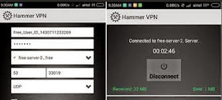 Working Airtel Free 3G Internet Trick For Android with HammerVPN [MAY 2015]