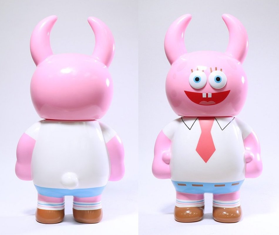 d71c987e313f GIANT SIZE SPONGEBOB UAMOU (Pink) Chase Variant from Unbox Industries for  July 14th Online Release