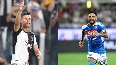 Napoli-Juve : التشكيلات المحتملة للفريقين اليوم
