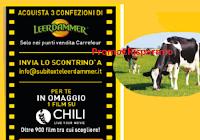 """Logo Leerdammer """"Dalla parte della natura per offrirti il meglio"""" : film CHILI come premio certo!"""