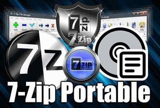 تحميل برنامج 7Zip Portable عملاق ضغط وفك ضغط الملفات نسخة محمولة للنواتين