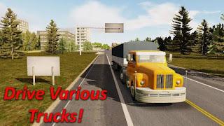 Descargar Heavy Truck Simulator MOD APK Dinero ilimitado 1.973 Gratis para Android 4