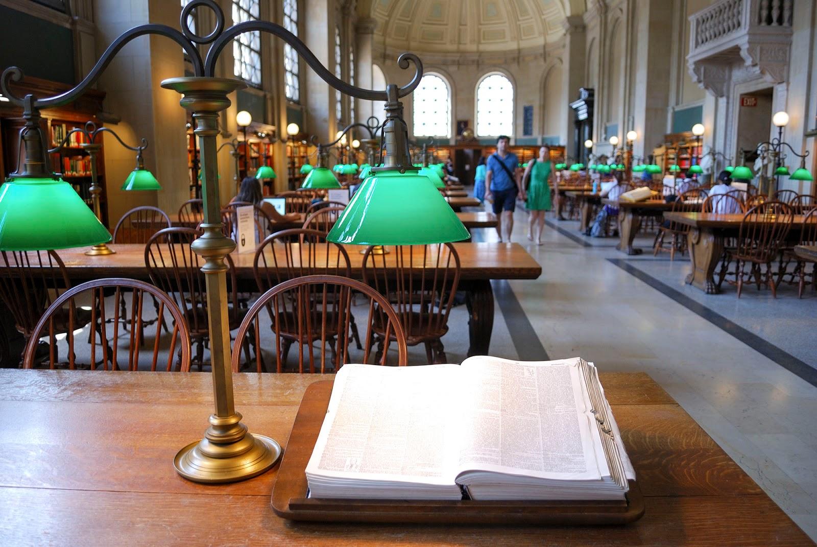 public library copley square boston itinerary plan guide tourism usa america park east coast