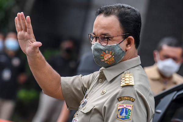 """Gubernur DKI """"Anies Baswedan"""" Dinyatakan Positif Covid-19"""