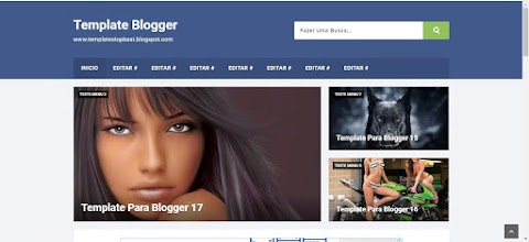 Responsivo e SEO Friendly Blogger Template
