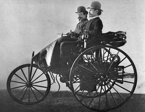 Triciclo Benz 1886