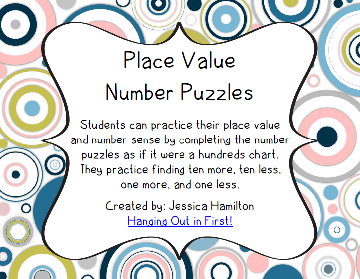 http://www.teacherspayteachers.com/Product/Place-Value-Number-Puzzles-1075865
