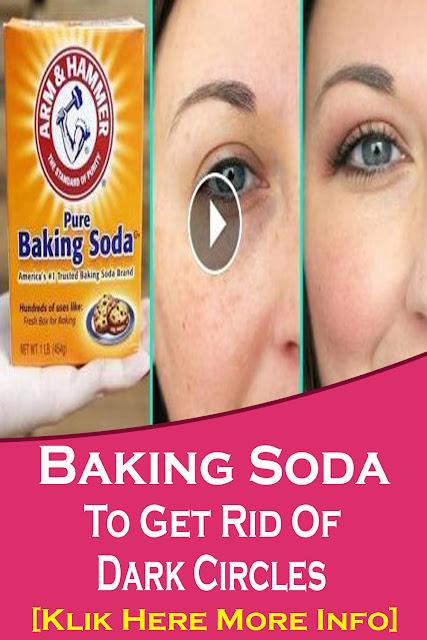 How To Use Baking Soda For Dark Circles