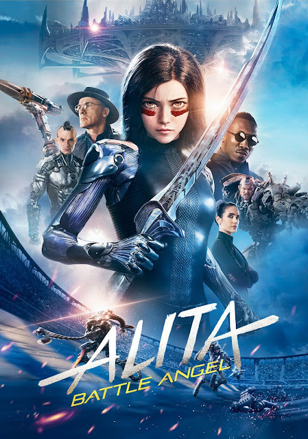 Poster of Alita: Battle Angel 2019 Full Hindi Dual Audio Movie Download BluRay Hd 1080p