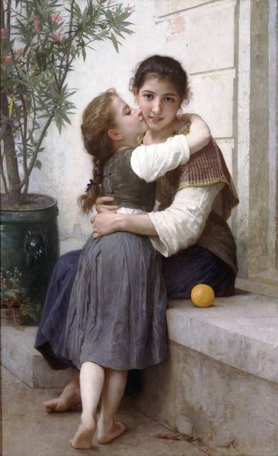 Адольф Вильям Бугро - Немного уговоров (1890)