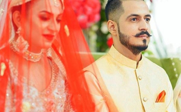 Actress Hiba Ali wedding