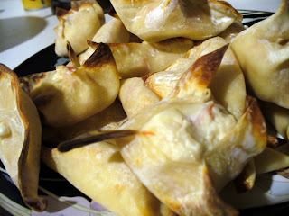 Weight Watchers Find - Baked Crab Rangoon!!!