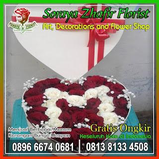 Karangan bunga box