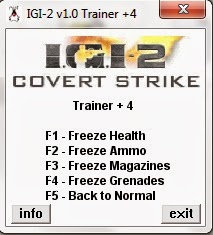igi 2 covert strike cheats unlimited health and ammo