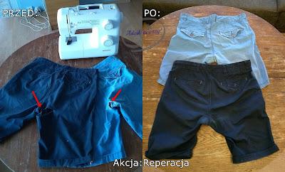 Akcja Reperacja u Adzika - naprawa dziurawych spodni w kroku