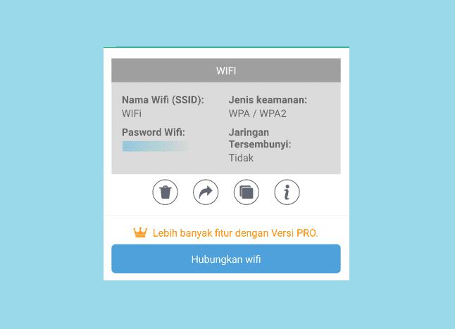 cara melihat password wifi yang sedang digunakan di android