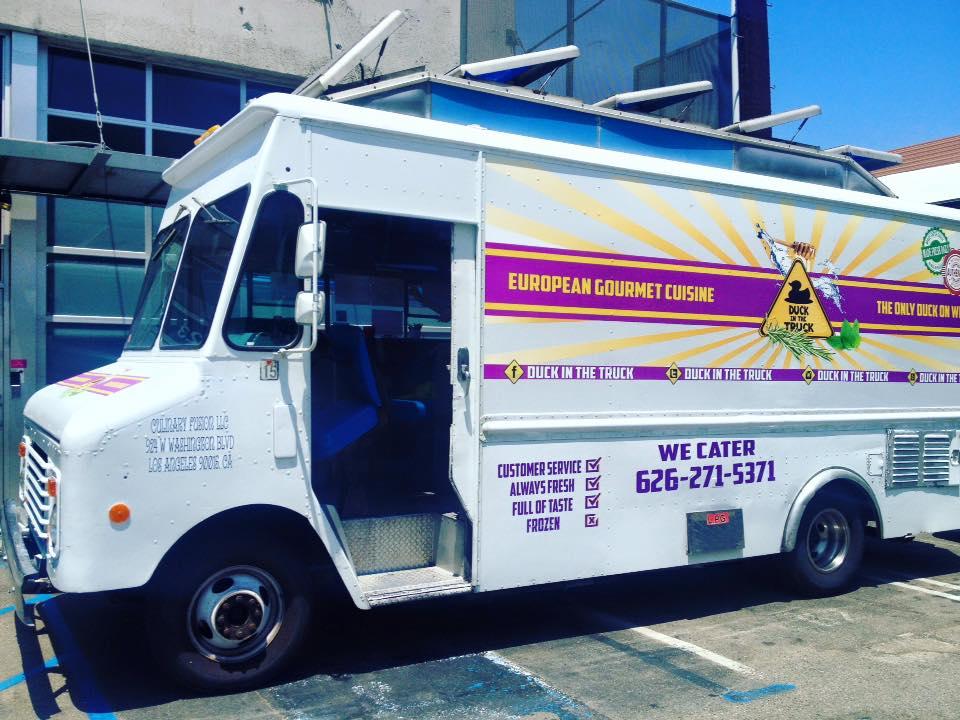 Bird Coma Food Truck Menu