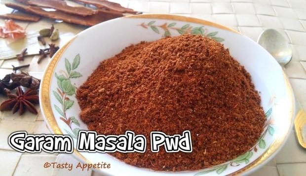homemade garam masala pwd