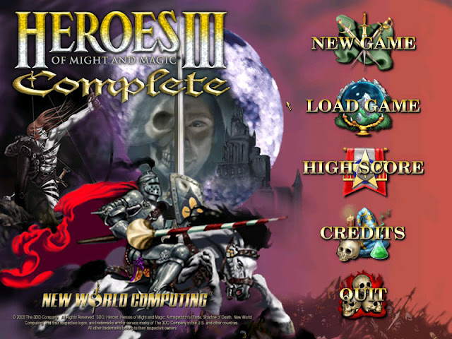 Heroes of Might and Magic 3 main