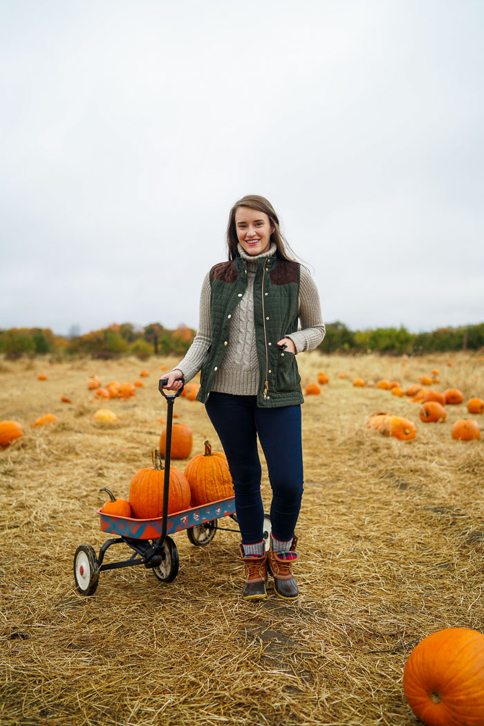 Krista Robertson, Covering the Bases,Travel Blog, NYC Blog, Preppy Blog, Style, Fashion Blog, Travel, Fall Outfits, Fall Style, What to Wear for the Fall, Pumpkin Picking, What to Wear Pumpkin Picking