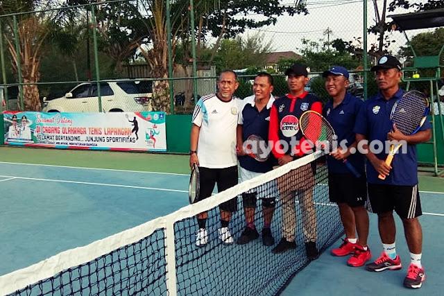 Tenis Pornas Korpri: Inilah Tim Yang Sukses Melaju ke Babak 16 Besar