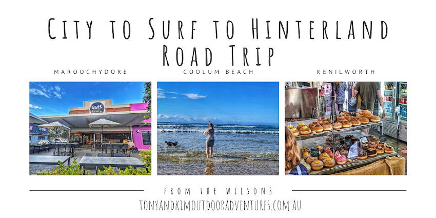 Road Trip City to Surf to Hinterland