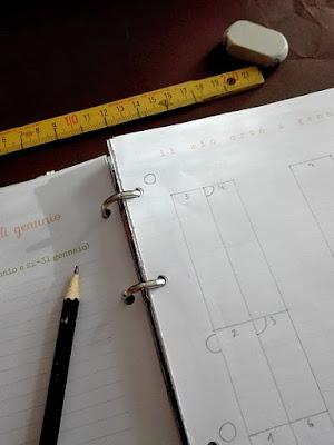 Programmare l'orto sull'agenda-diario in omaggio