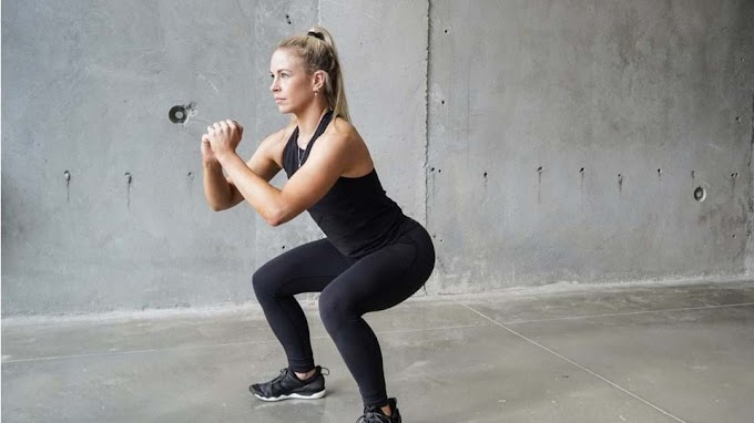 Today's Workout: Side to side squat also helps with coordination