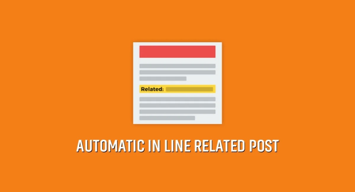 Automatic In Line Related Post on Blogger