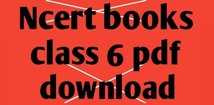 ncert books class 6