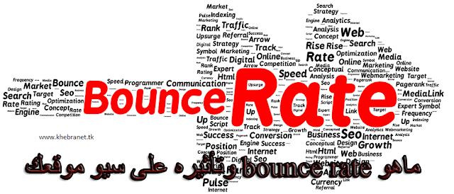 ماهو bounce rate وتأثيره على قوة سيو موقعك