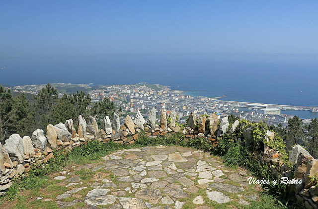Mirador del Monte Castelo y Burela